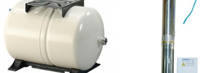 pompa submersibila panelli cu vas expansiune 60 litri gws