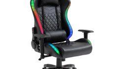 Cel mai confortabil scaun gaming cu sistem iluminare LED-uri