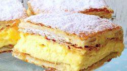 Cremsnit – prajitura cremoasa perfecta pentru orice moment al zilei