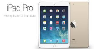 Cum va arata tableta iPad Pro si cand va fi lansata?