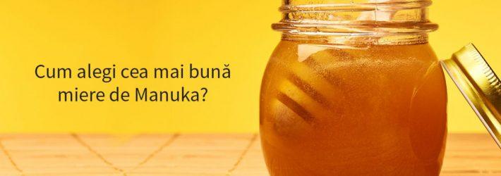 De unde provine mierea de Manuka?