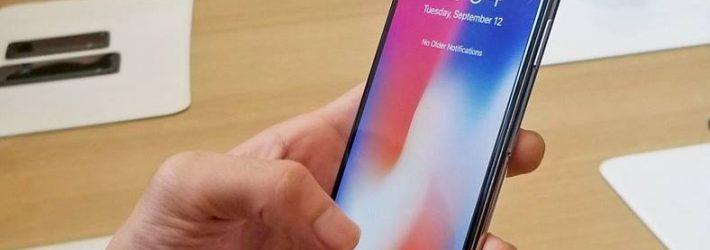 Probleme comune pentru iPhone X