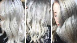 Trucuri de efect pentru un blond cenușiu de durată